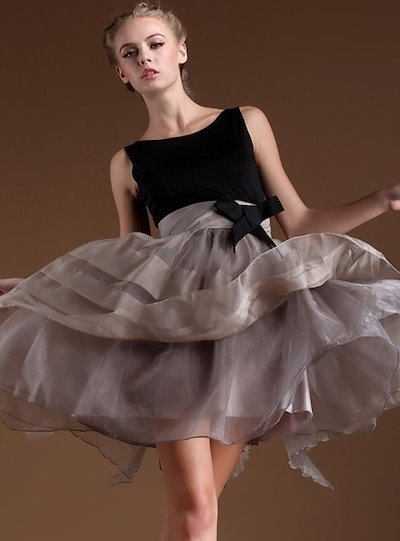 Women s Fashion Elegant Lace Dress Backless Patchwork Ball gown Mini Prom Party dress with Bow