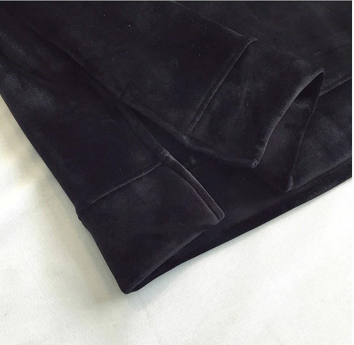 【大きいサイズXL-5XL】ファッションワンピース♪ブラック/ダークグリーン2色展開