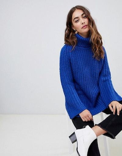 ヴェロモーダ レディース ニット・セーター アウター Vero Moda Chunky Roll Neck Sweater
