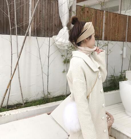 [55555SHOP]★韓國ファッション★オーバーフィットウールコート
