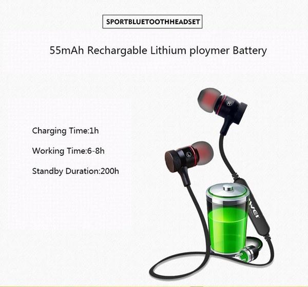 高品質CSR新エネルギーBluetooth 4.0ヘッドセットステレオイヤホンイヤホンワイヤレススポーツヘッドフォン