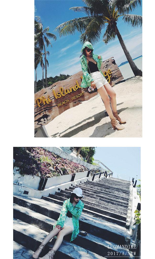 送料無料 ラッシュガード レディ 日焼け止め服 女性 紫外線防止  UV対策 長袖 パーカー 体型カバー 薄手 ブラウス UVカット 山登り 旅行 リゾート 水着 ファッション