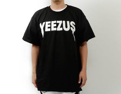 イーザス YEEZUS Tシャツ 半袖 ロゴ LOGO バンドTシャツ ロックTシャツ バンT ツアーT イーザスツアー Yeezus Tour HIP HOP ヒップホップ ストリート カニエ・ウエ