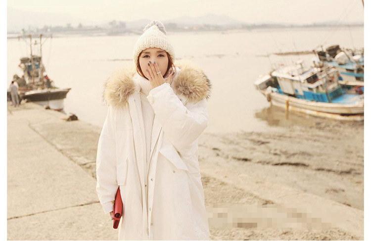 2017  韓国ファッション レディー ス  コート 中綿 人気 長袖   厚手 暖かい コート アウター  トップス  秋冬  大人可愛い  上質   AT118209