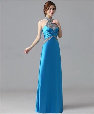 【6カラー・6サイズ】演奏会用ドレス ロングドレス ロング 発表会ドレス パーティー 大きいサイズ カラードレス 20代 30代 40代 新作