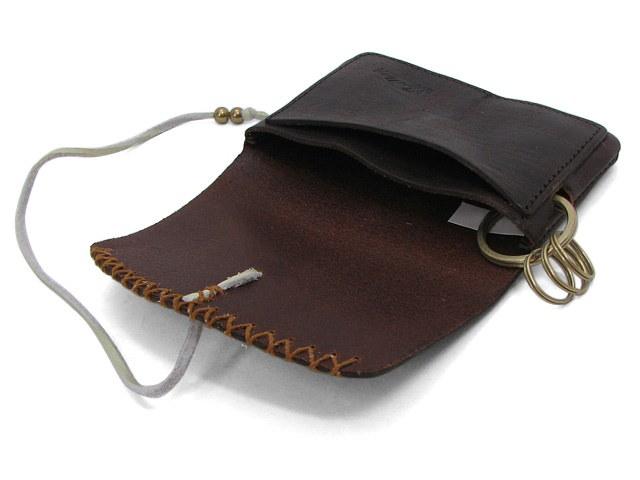 Indian インディアン - カードケース IMW093 21 chocolate チョコ cardcase キーケース