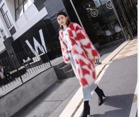 [55555SHOP]ト女/暖かい人工ファー/韓国ファッション/フィットスタイル/大ヒット/大人気/美しいデザインで
