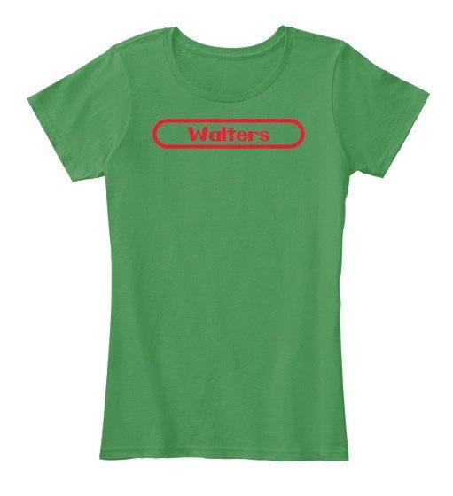 ウォルターズレビュアー:レディースプレミアムティーTシャツ