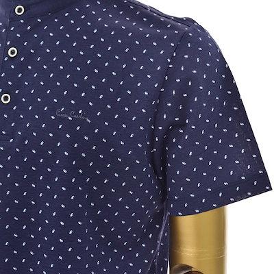 [SAY公式ストア][ピエールカルダンカジュアル]チャイナエリ半袖ポロシャツPJTS2418