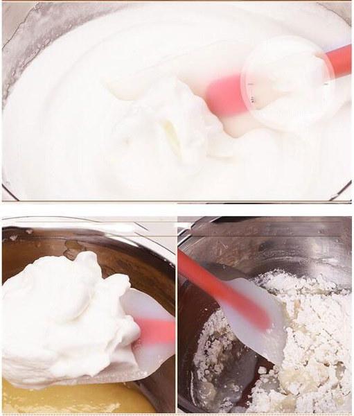 1pcsソフトシームレスシリコーンスパチュラバタークリームスクレーパーケーキの装飾ツール用ベーキングツール