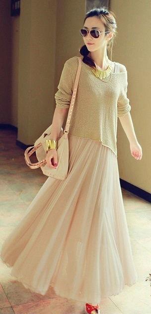 ふんわり ボヘミアン マキシ ドレス + 不規則セータートップス ※納期に10日から14日ほどかかります。