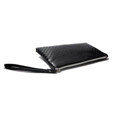 新しいセール2018小さな女性のクラッチ財布は、携帯電話のカードホルダージッパーとPuのレザーの女性のバッグを編む