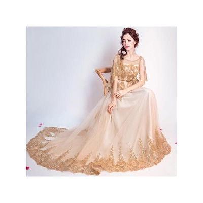 ロングドレス演奏会 イブニングドレス結婚式 パーティードレス 二次会 披露宴 成人式 ワンピース トーレン