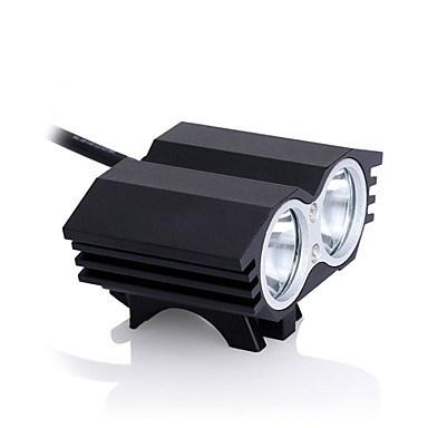 ヘッドライトバイクライトLED 2400ルーメン3モードクリーXM-L2 18650充電式防水ストライクベゼルT