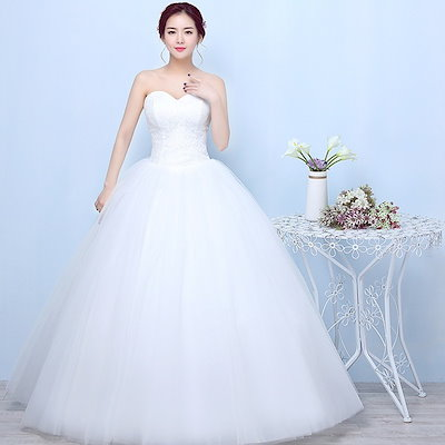 bridal dress in white new fashion temperament style bride wedding dress lace embroidery large size s
