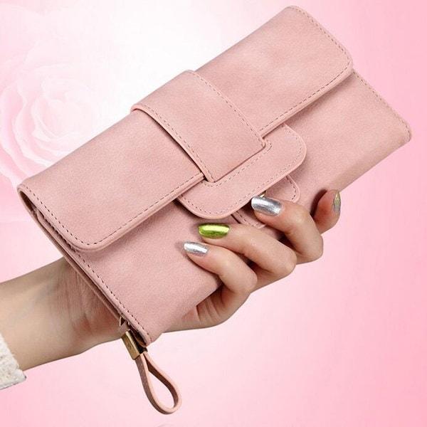 財布  三つ折り レディース 長財布 かわいい プレゼント ロングウォレッド 小銭入れ カード ファスナー付き スマホ収納OK 女の子  主婦 普段使い 財布 プレゼント  高品質 韓国ファッショ