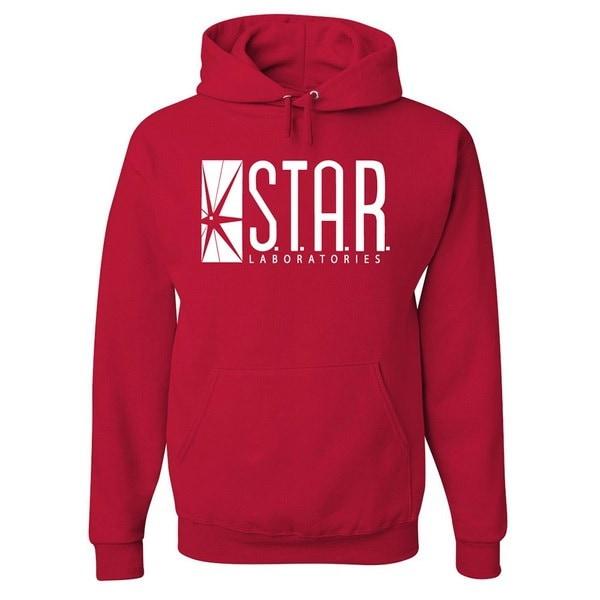 Flash STAR LabsパーカーSTARラボラトリーズロングスリーブスウェットアウトレットユニセックス