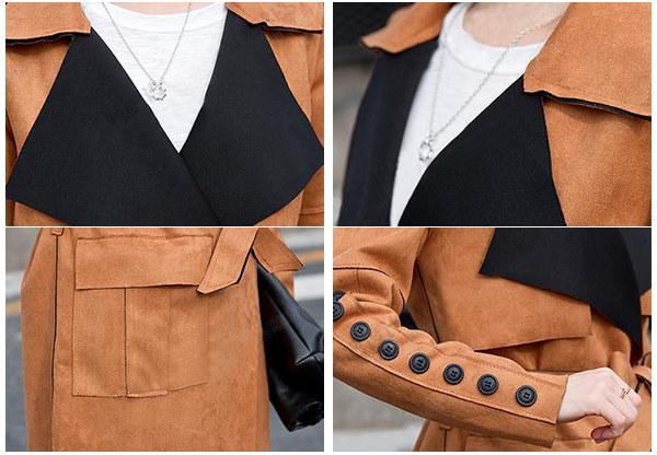 韓国ファッショントレンチコート  レディース  秋 コート レインコート テロンチ コート 大きいサイズ 物 秋服 秋冬 アウター 通勤