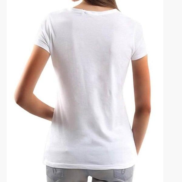 新しいファッションTシャツ女性トップス半袖OネックホワイトティーシャツハニーレタープリントTシャツ