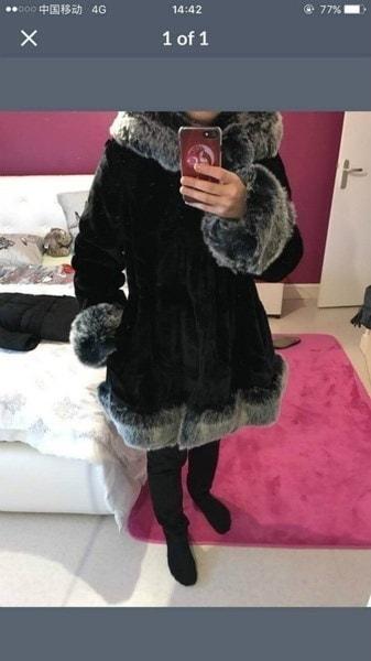 2017冬の新プラスサイズコートラグジュアリーロングフェイクファーコート女性ファッションアウトレット