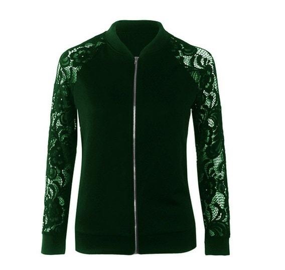 女性秋ボーイフレンドアビエイタージャケットコートファッション黒と白の女性カジュアルボマージャケット基本