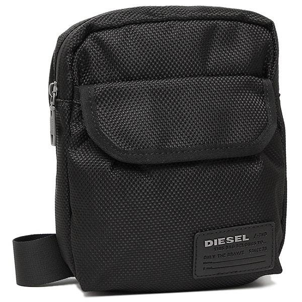 ディーゼル バッグ DIESEL X04010 PR027 T8013 CLOSE CROSS MESSENGER メンズ ショルダーバッグ BLACK