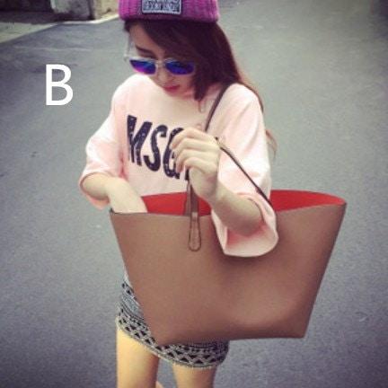 ◆送料O円◆大容量 バッグインバッグ トートバッグ ショルダーバッグ