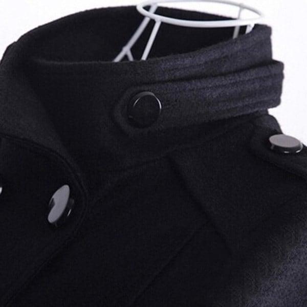 秋冬コートロングスリムアウターカジュアルウールコートレディースジャケット