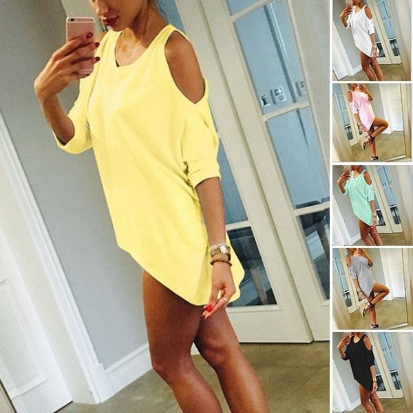 REHAPPY 5色プラスサイズの女性のストラップレスセクシールースファッションカジュアルシャツwrhC16122400018A30