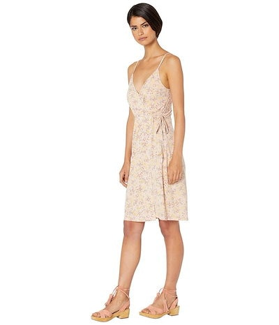 BCBジェネレーション レディース ワンピース トップス Cocktail Faux Wrap Knit Dress