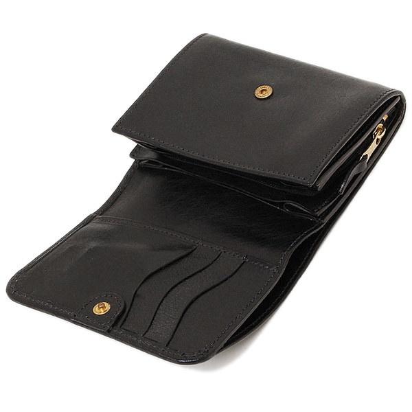 イルビゾンテ 財布 IL BISONTE C0883 P 153 二つ折り財布 BLACK