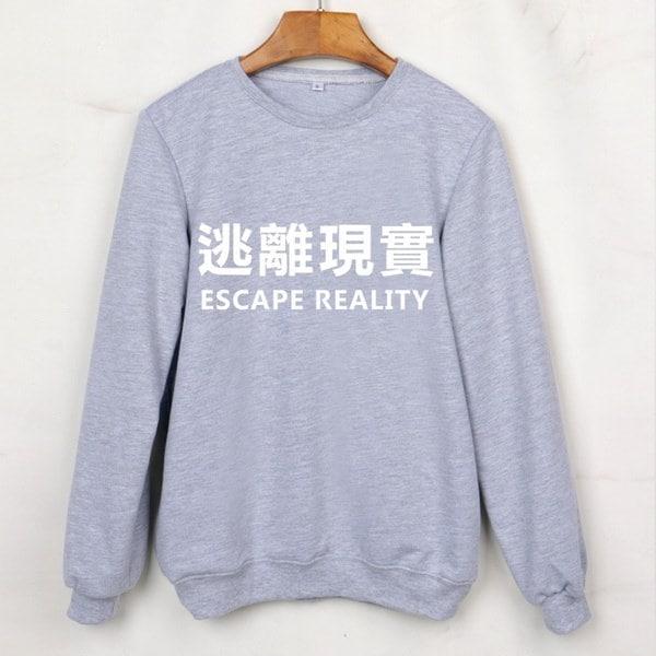 Sudaderas Mujer 2016 New Harajuku Letter Print Casual Sweatshirts Long Sleeve O-Neck Autumn Winter H