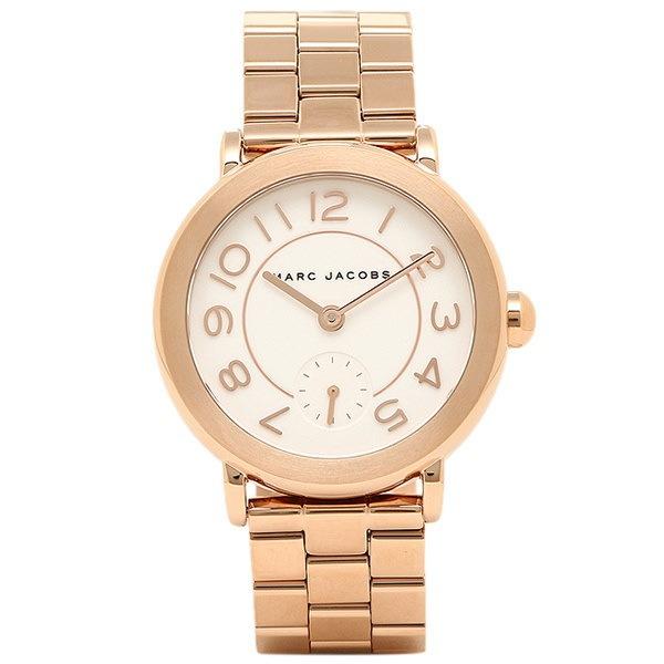 マークジェイコブス 時計 MARC JACOBS MJ3471 ライリー RILEY レディース腕時計ウォッチ ピンクゴールド/ホワイト