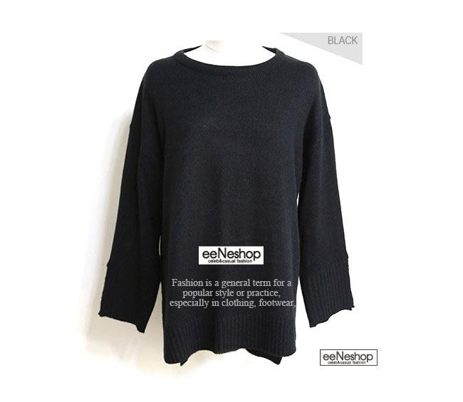 ★送料無料★ボートネック スリットデザイン リブニット レディース 韓国ファッション ワンピース Tシャツ ブラウス カーディガン ルームウェア セットアップ トレーナー バッグ リュック パーカー