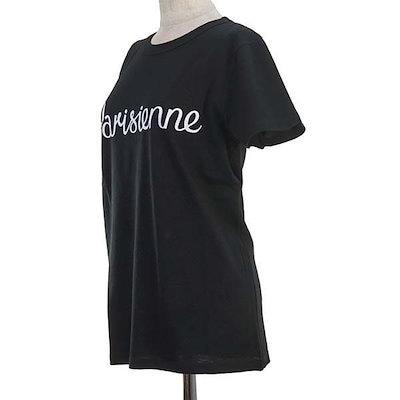メゾン キツネ MAISON KITSUNE / TEE SHIRT PARISIENNE Tシャツ M #FW17W703-BK BLACK新春初売り大特価中!
