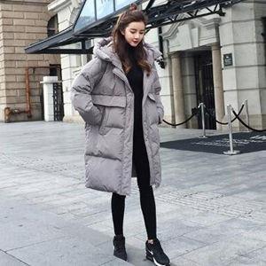 ダウン風コート 中綿コート ロング丈 ロングコート レディース ダウン風ジャケット フード付き ゆったり コート アウター 暖かい 秋冬 新作