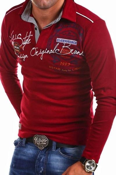 大きいサイズのXS-4XLメンズファッションパーソナリティ長袖シャツをつくるPOLOと長袖