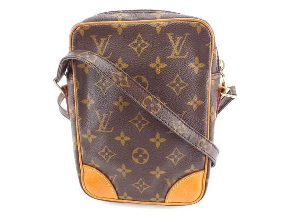 ルイヴィトン Louis Vuitton ショルダーバッグ 斜めがけショルダー メンズ可 ダヌーブ モノグラム M45266 ブラウン モノグラムキャンバス (あす楽対応)人気 セール【中古】 Y33