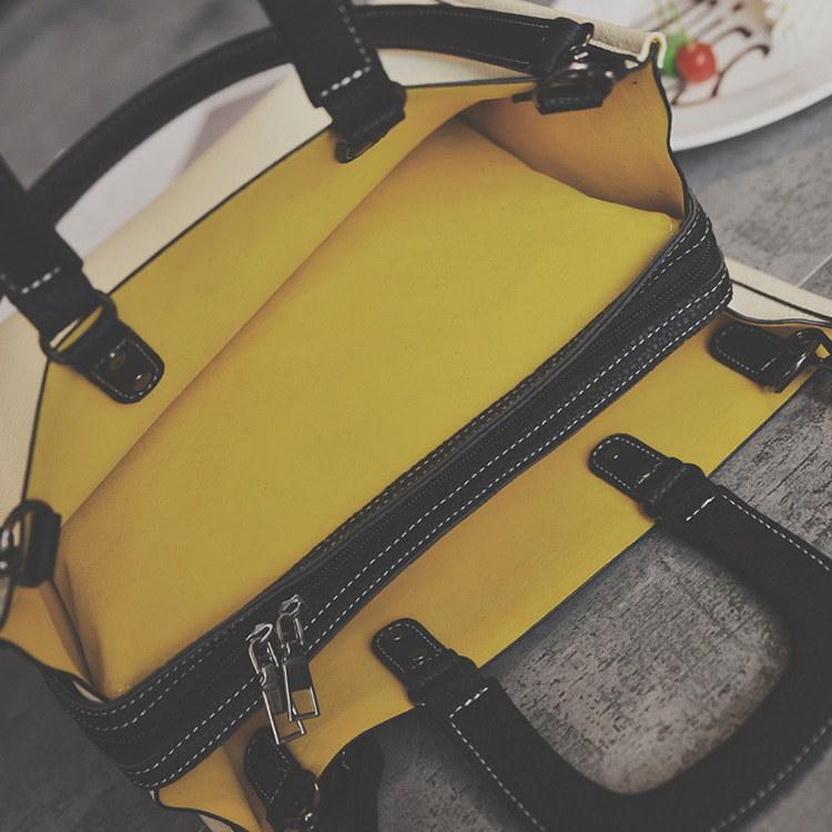 ショルダーバッグ ハンドバッグ バッグ レディース シンプル 合皮 2way カバン鞄 スクエアバッグ レディースバッグ