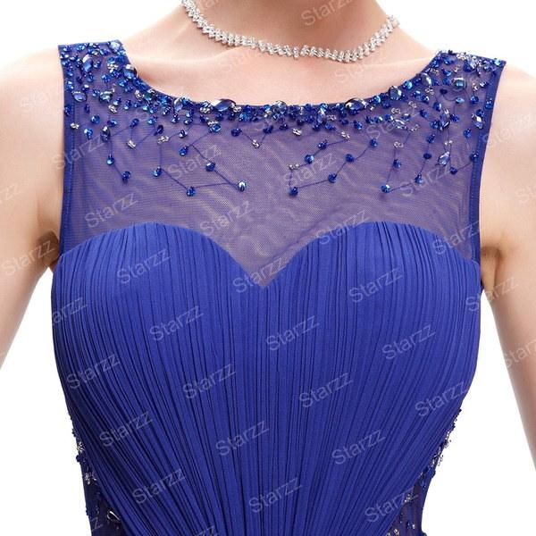ロングフォーマルパーティーボールガウンブライドメイドプロムカクテルマキシイブニングドレス