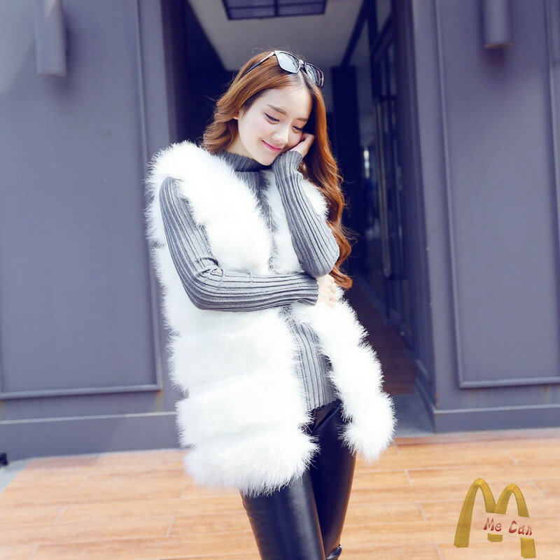 冬ファッションファー・毛皮アウター・ショットコート 軽い暖かファー
