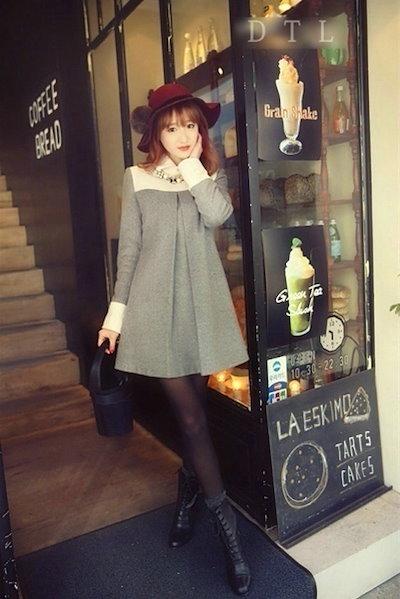 Han edition fashionable woman loose maternity dress coat  size:S-XXL