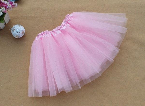 夏のプリティ女性の女の子弾性伸縮性のあるチュールドレスアダルトチュチュ3レイヤーミニスカート