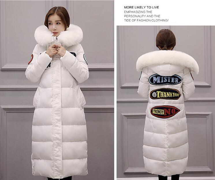 y6  防寒  アウター  キレイめ  ロングコート  ダウンコート♪  大きいサイズ 白 ♪