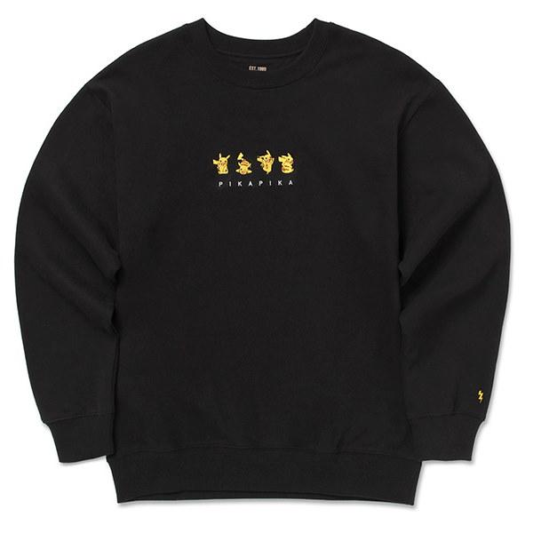 冬新作入荷!!【SPAO X ポケモン】 大人気 SPAO Pokemon  S/S ZIPUP HOODY longsleeved tshirts tee