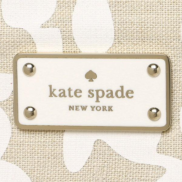 ケイトスペード バッグ アウトレット KATE SPADE WKRU3772 103 CAROLINE LANE FABRIC トートバッグ BRIGHT WHITE