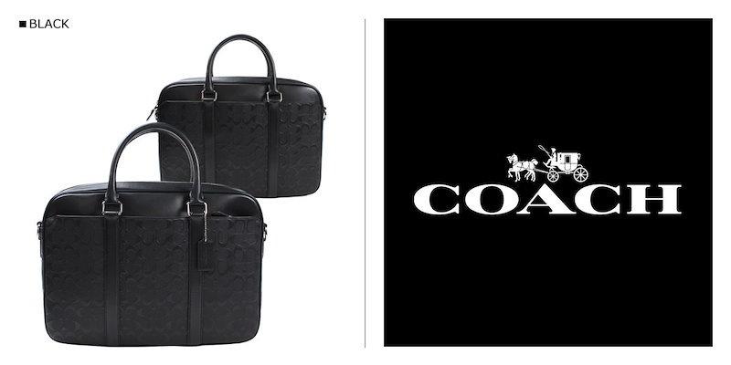 COACH コーチ メンズ バッグ トートバッグ ビジネスバッグ F72230 ブラック