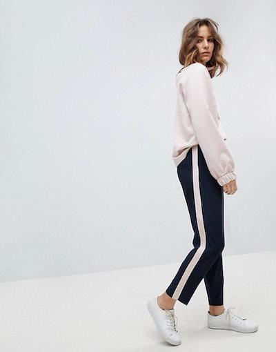 セレクティッド レディース パーカー・スウェット アウター Selected Femme Sweatshirt With High Neck And Sleeve Detail