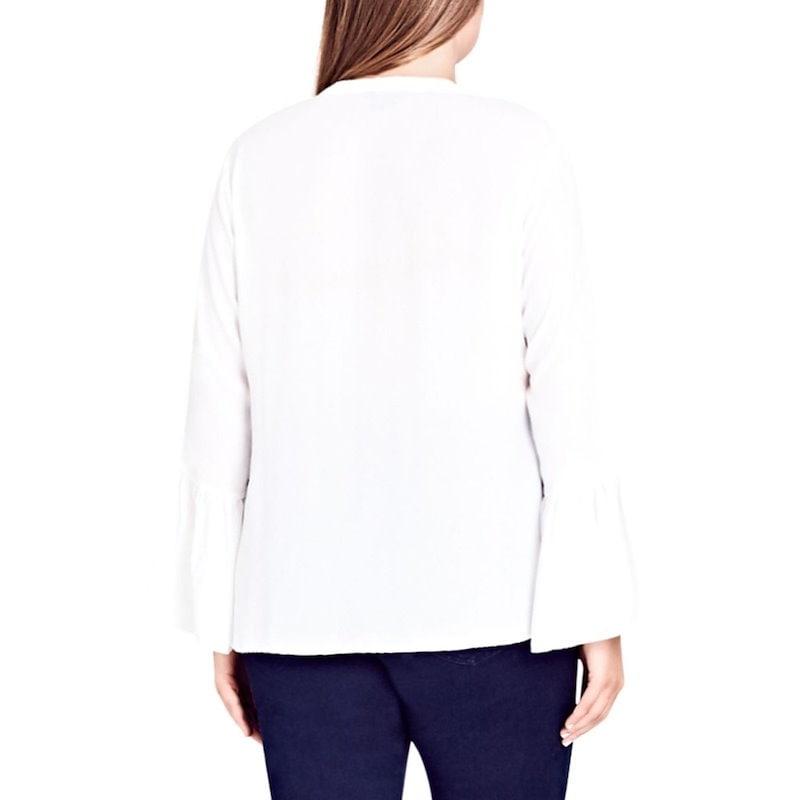 シティーシック レディース トップス ブラウス・シャツ【Office Fling Shirt】Ivory