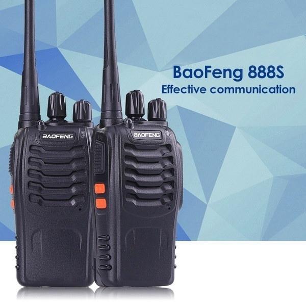 Baofeng Bf-888s長距離UHF 400-470MHz 5W Ctcss DCSポータブルハンドヘルド双方向ハム無線
